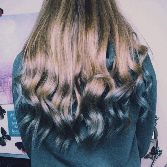 Mermaid hair dont care  With the Lorealhair Pastel Bluehellip