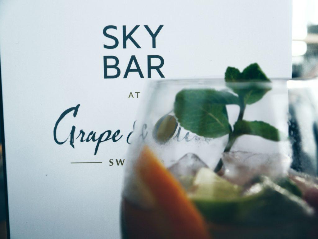 Sky-Bar-Menu