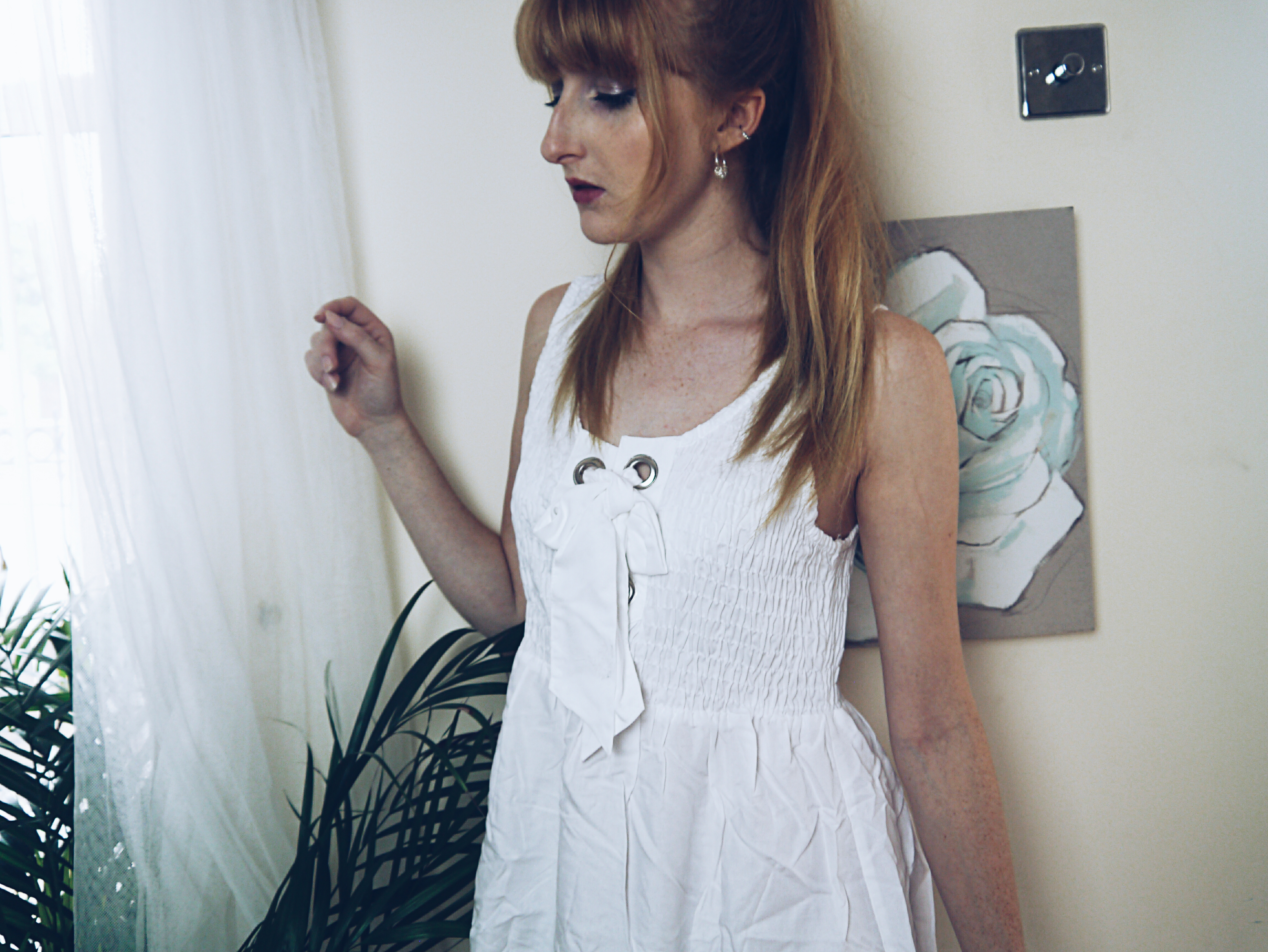 asos-haul-shirred-white-sundress
