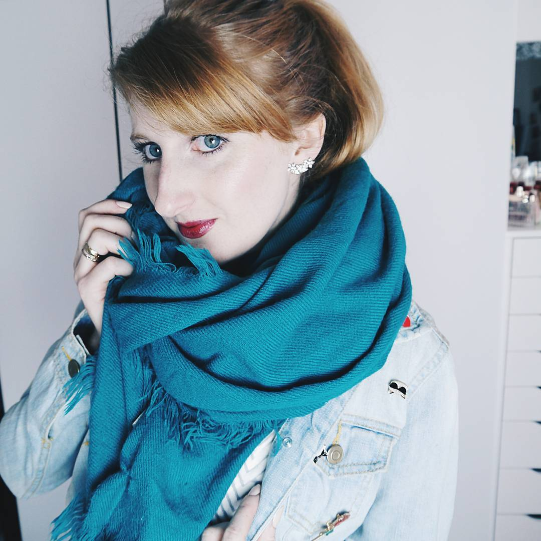 scarves are perfect for autumnal accessorising
