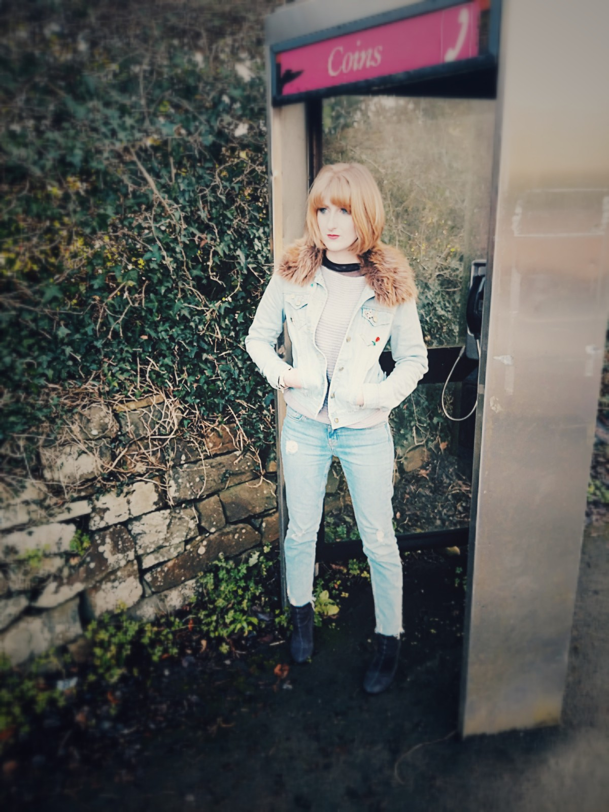My copy-cat Megan Ellaby denim on denim look