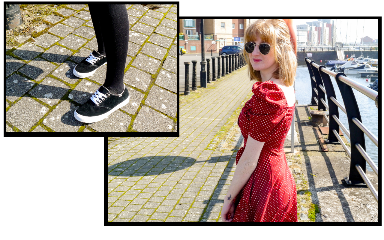 Styling your tea dresses in Spring without going bare legged