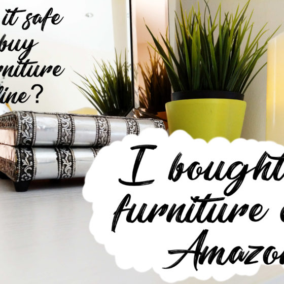 I Bought Furniture off Amazon