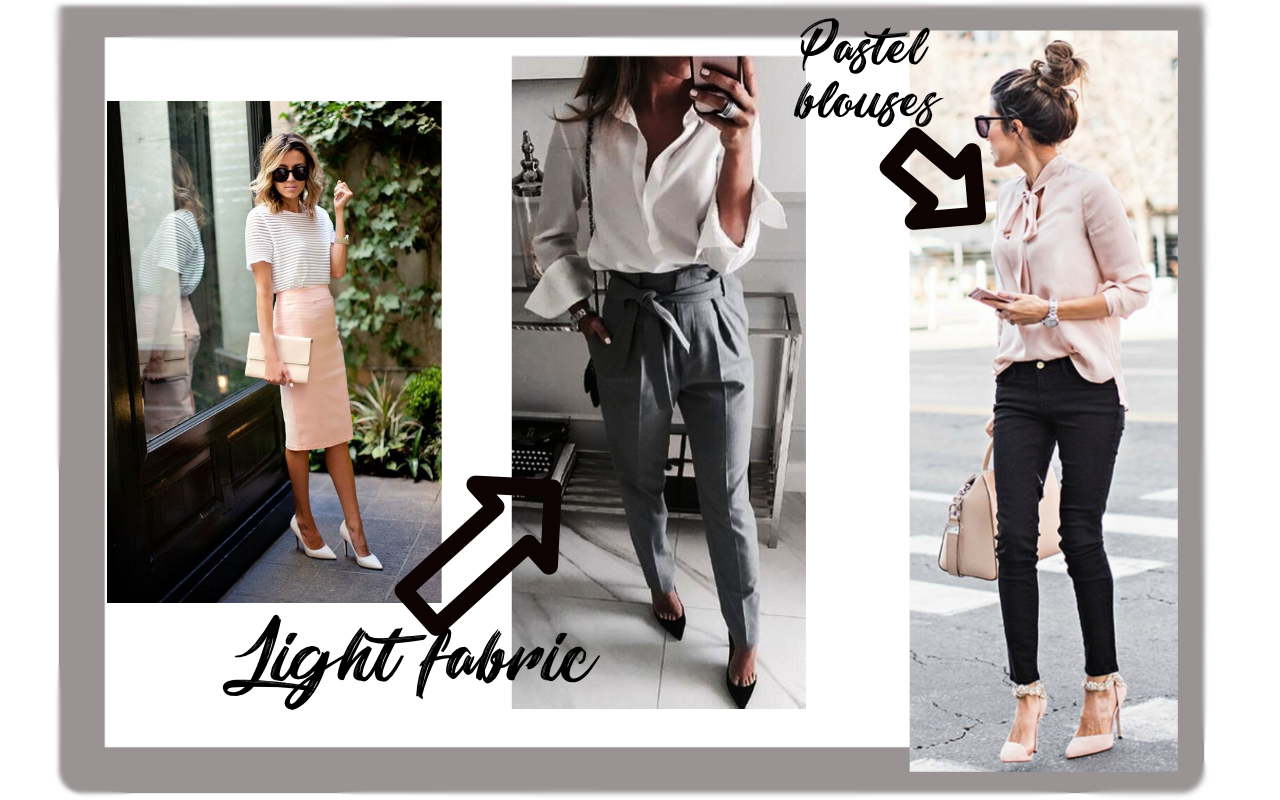 OFFICE OUTFITS FOR THE SUMMER
