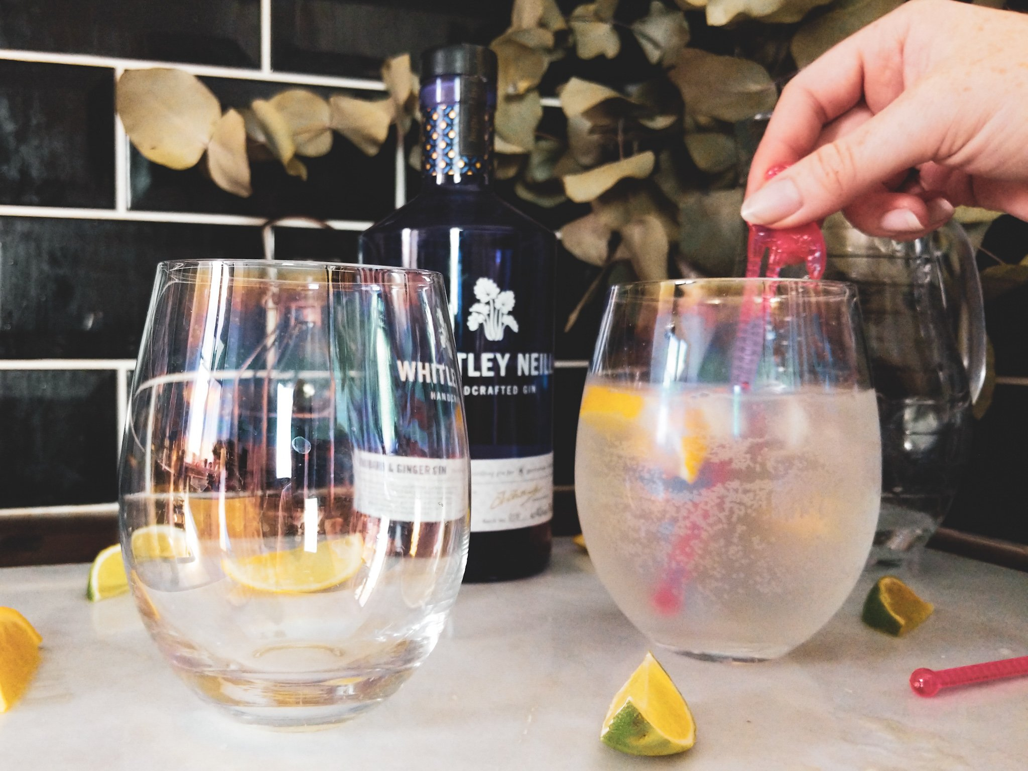 HOW TO MAKE GIN FOR TWO WITH WHITLEY GIN